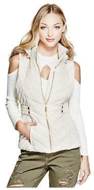 GByGUESS G By Guess Women's Candace Puffer Vest $59.99 thestylecure.com