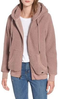 Andrew Marc Teddy Fleece Zip Jacket