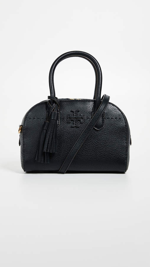 3293200f1dc1 Tory Burch McGraw Small Satchel - ShopStyle