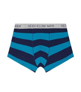 Heidi-Klum-Man Rugby Stripe Exposed Mens Trunk