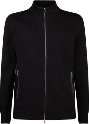 BOSS Cotton Zipped Cardigan