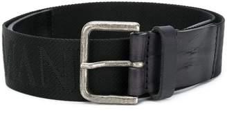 Emporio Armani logo print belt