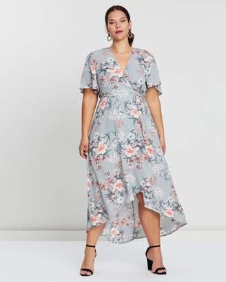 Floral Print Midaxi Dress