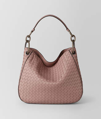 Bottega Veneta DECO ROSE INTRECCIATO NAPPA LOOP BAG