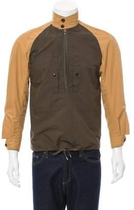 Haver Sack Half-Zip Popover Jacket w/ Tags