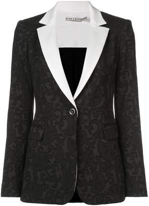 Alice + Olivia Alice+Olivia Macey fitted blazer