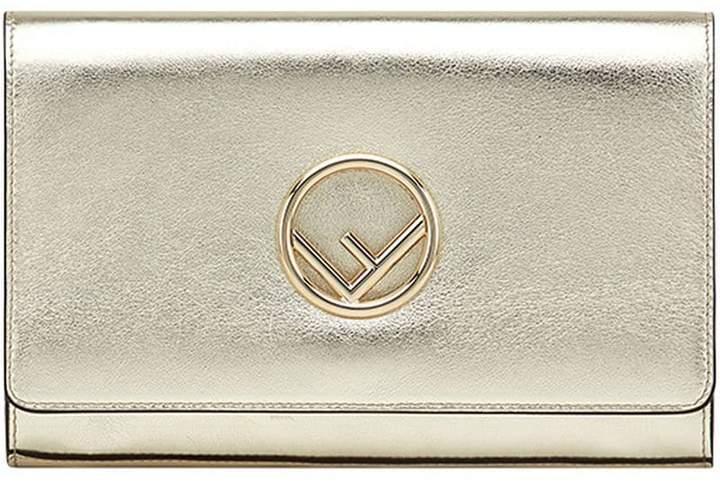Fendi chain strap wallet