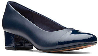 f061cf5e869 at The Bay · Clarks Chartli Diva Leather Pumps