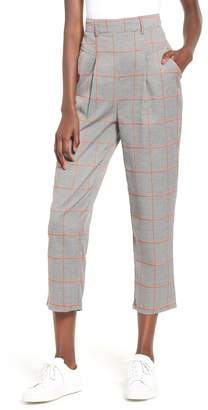 The Fifth Label Academic Checked Crop Trousers