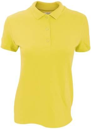 Gildan Womens/Ladies Premium Cotton Sport Double Pique Polo Shirt (M)