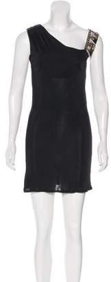 Emilio Pucci Sleeveless Embellished Mini Dress