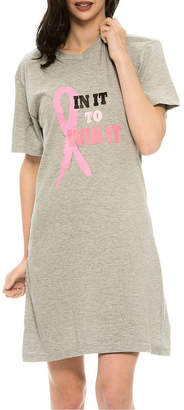 Asstd National Brand National Breast Cancer Foundation Inc. Sleep Nightshirt