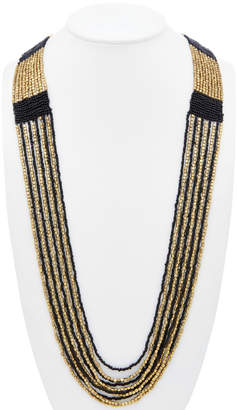 Devon Leigh Beaded Multistrand 40In Necklace