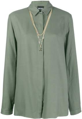 Just Cavalli long-length shirt