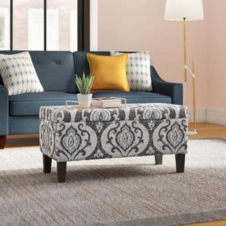 Bungalow Rose Lexie Storage Ottoman