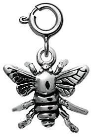 QVC Sterling Bee Charm