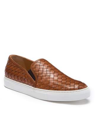Trask Ripley Woven Leather Sneaker