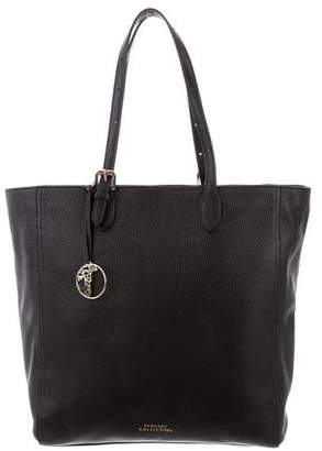 Versace Grained Leather Tote w/ Tags