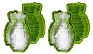 Fairly Odd Novelties Grenade Ice Cube Mould, 2 Pack