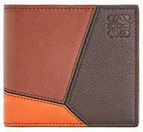 Loewe Men's Puzzle Bifold Wallet with Coin Pocket