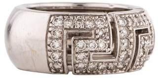 Versace Diamond Band Ring