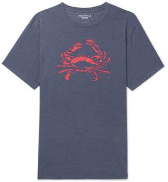 J.Crew Printed Mélange Cotton-Blend Jersey T-Shirt