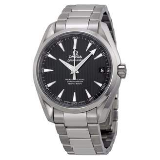 Omega Men's 'Seamaster150' Swiss Automatic Stainless Steel Dress Watch, Color:Silver-Toned (Model: 23110392101002)