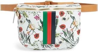 Clare Vivier Floral Leather Supreme Fanny Pack