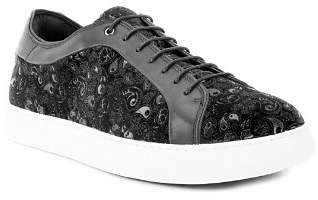 Robert Graham Men's Coates Paisley Leather Sneakers