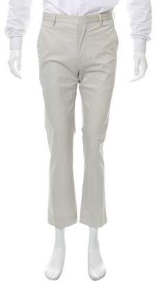 Calvin Klein Collection Flat Front Chino Pants