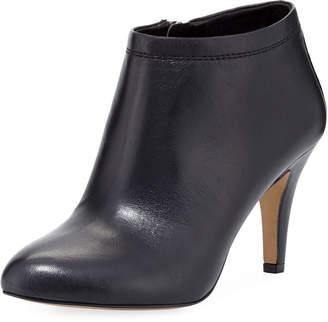 VC Signature Vessa Leather Bootie, Black