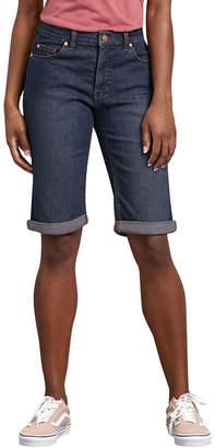 Dickies Misses Perfect Shape Denim Bermuda Short