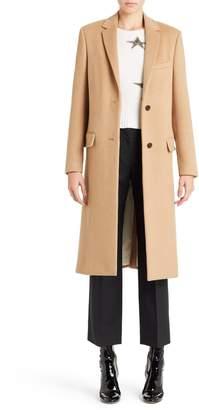 Valentino Studded Camel Hair Coat