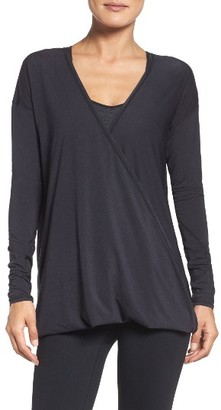 Women's Zella Yama Wrap Top $59 thestylecure.com