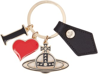 Vivienne Westwood - I Love Orb Gadget Key Ring Wallet $85 thestylecure.com