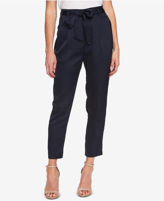 CeCe Tie-Belt Ankle Pants