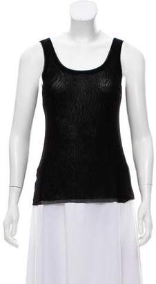 Jean Paul Gaultier Soleil Sleeveless Scoop Neck Top