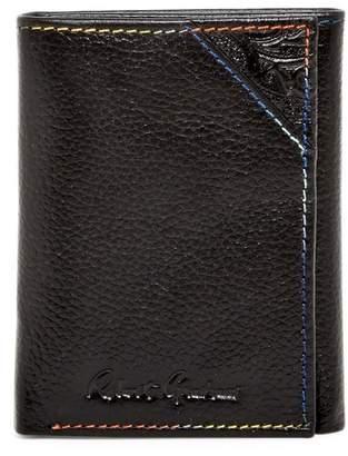 Robert Graham Clarke Leather Trifold Wallet
