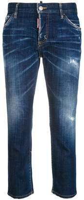 DSQUARED2 sluch cropped jeans