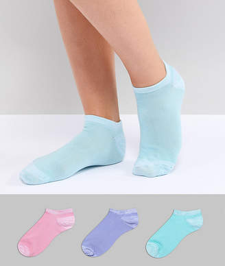 Fruit Cake Fruitcake 3 Pack Pastel Ankle Socks