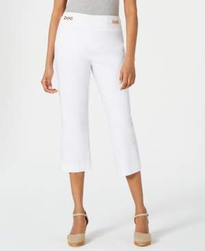 JM Collection Cropped Chain-Link Pants, Created for Macy's