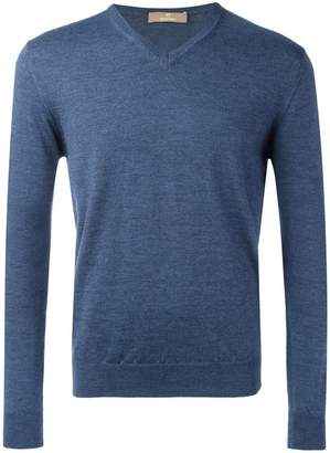 Cruciani V neck sweatshirt