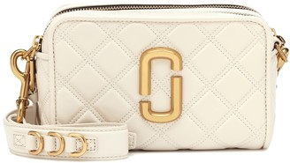 Marc Jacobs Softshot quilted leather crossbody bag