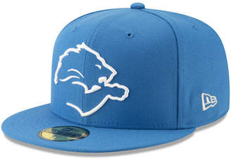 New Era Detroit Lions Logo Elements Collection 59FIFTY Fitted Cap 62f051b470d