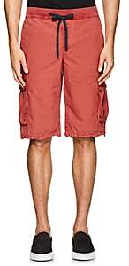 James Perse MEN'S COTTON CARGO SHORTS-PEACH SIZE 1