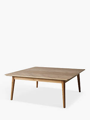 Hudson Living Milano Coffee Table, Oak