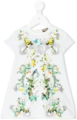 Roberto Cavalli floral print dress