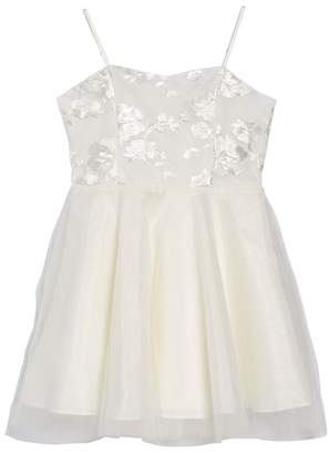 Un Deux Trois Embroidered Tulle Dress (Big Girls)