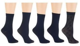 Passione Set of 5 Crew Trouser Socks