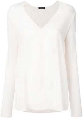 Twin-Set low neck sheer T-shirt $149.87 thestylecure.com